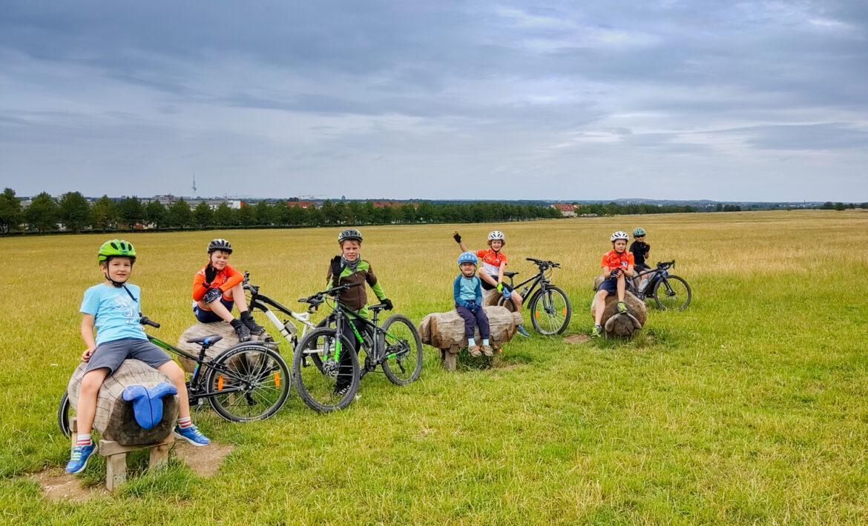 Kinder-Fahrradtraining im Gelände